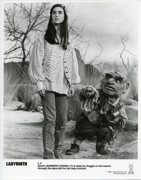 "10/18/1984 ""Shoot test – Labyrinth – London"" | Jim Henson ... Labyrinth 1986 Characters"