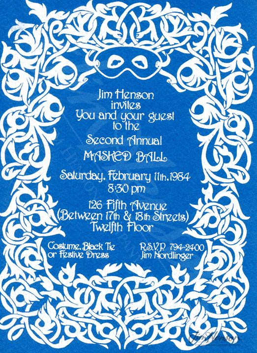 2/11/1984 – '2nd Masquerade Ball – loft – downtown.' | Jim ...