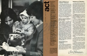 The Winter 1973/74 newsletter from Action for Children's Television.