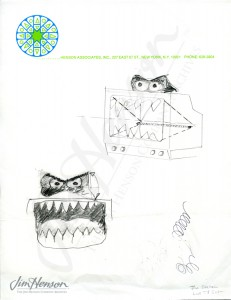 Despite this sketch, Jim felt that television should be friendly to children.
